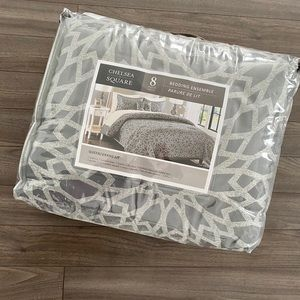 Other - Chelsea Square 8 Piece Bedding Set - Never used
